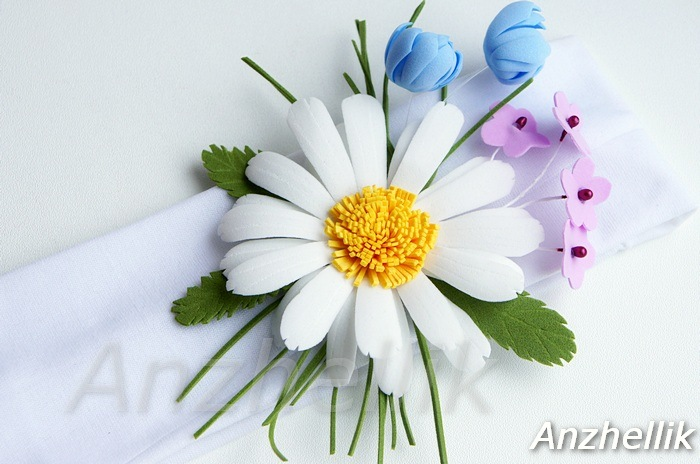Цветы из фоамирана, мастер-класс Мастер-классы