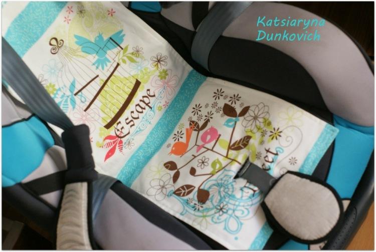 Чехол на детское автокресло сшить своими руками