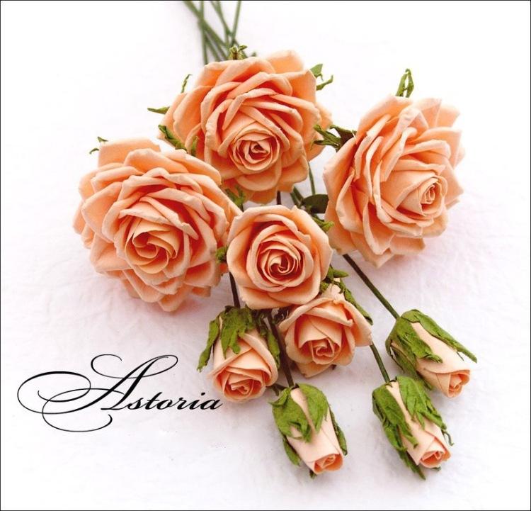Gallery.ru / Фото #10 - розы из бумаги - policealla