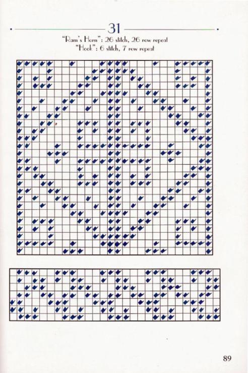 вязание турецкие носки и схемы