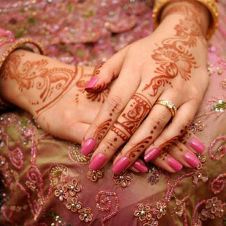 Henna malay wedding