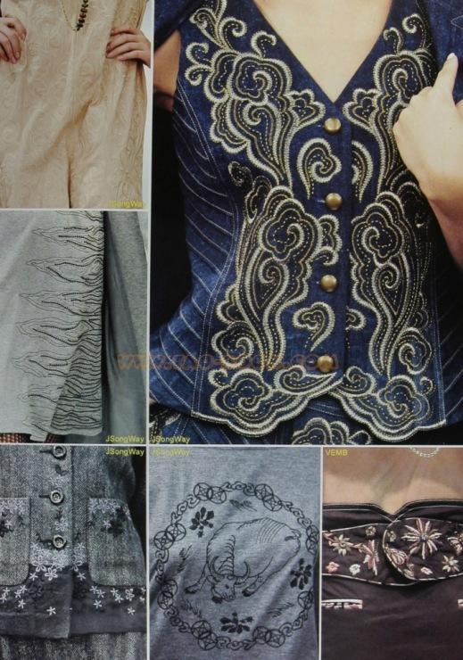 Платье с сутажной вышивкой 12