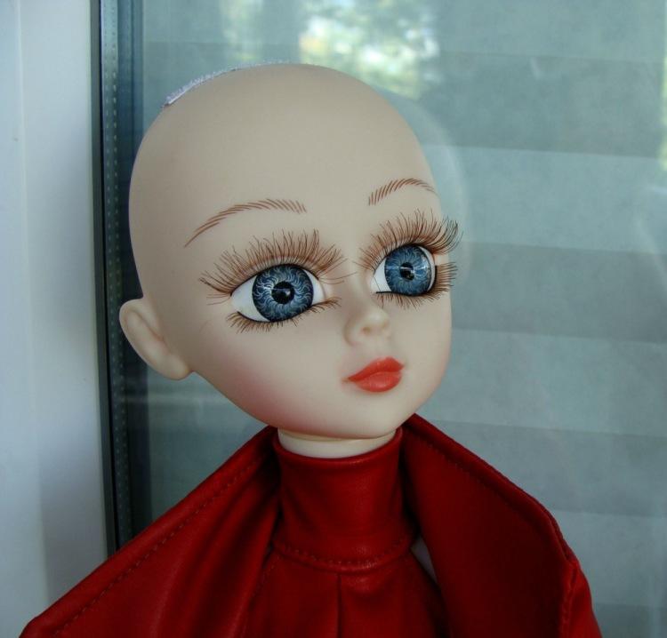 Как сделать ресницы из куклы 996