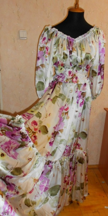 Платье для девочки сшить в ателье 92