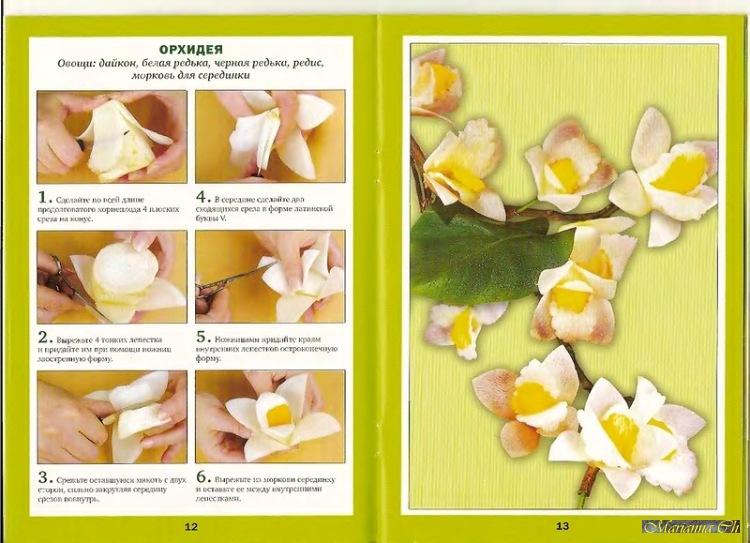 Gallery.ru / Фото #8 - Книга. Изысканные цветы из овощей - Marianna1504