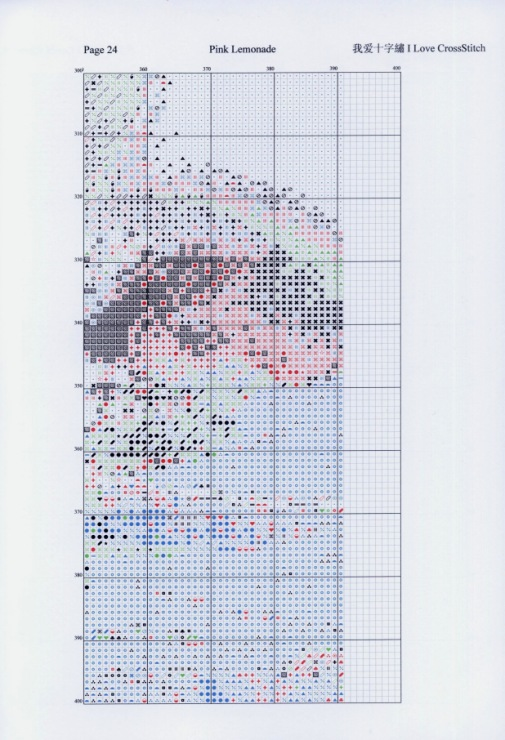 1500 standard cross stitch kit