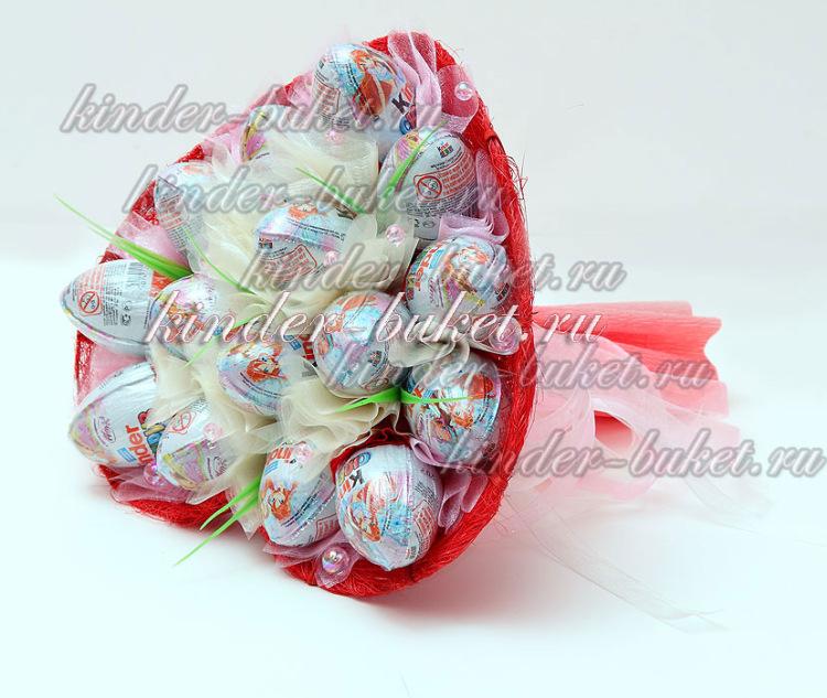 Букет из конфет своими руками киндер 64