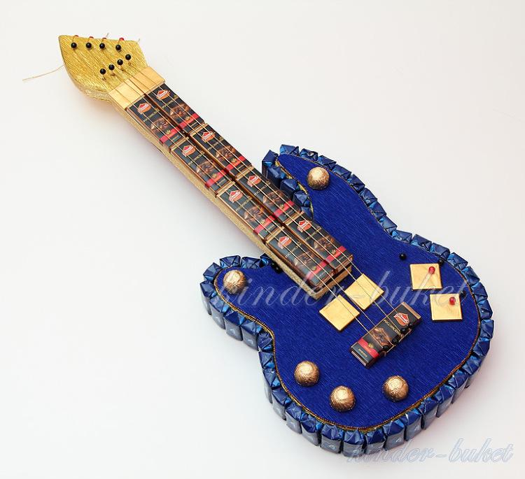 Как сделать гитару своими руками из картона пошаговое фото 65
