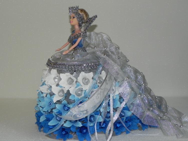 Снежная королева своими руками 4