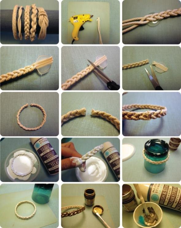 Браслеты своими руками handmade