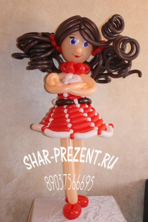 Куклы своими руками из шаров 54
