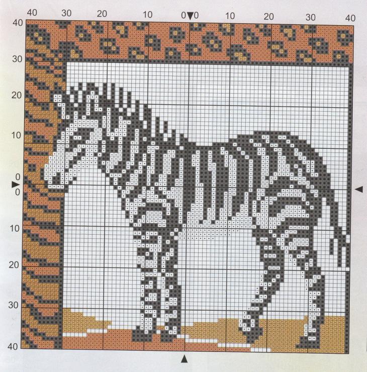 Схема вышивки «Ротвейлер» - Схемы автора «JuliC» - Вышивка 39