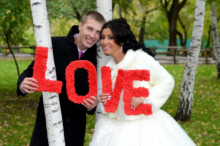 Как сделать для фотосессии на свадьбу своими руками