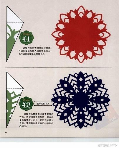 Схема снежинки из салфетки своими руками