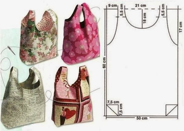 Сшить хозяйственную сумку из ткани
