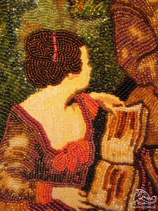 Гобелен для вышивки бисером