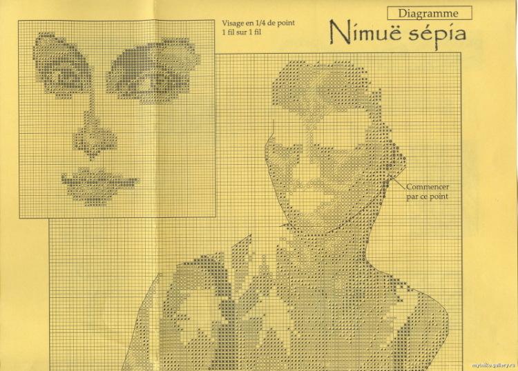 Nimue Схемы для вышивки крестом Печатная продукция 52